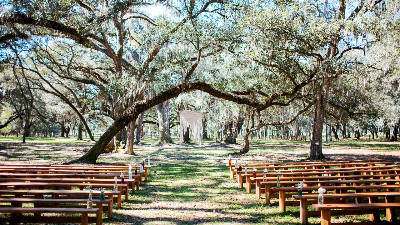 Tampa Bay Florida's Prettiest Ranch Outdoor Wedding Venue